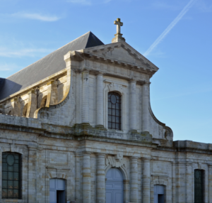 Paroisse du Christ Sauveur La Rochelle façade Cathédrale