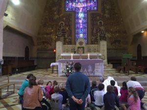 Enfants adorateurs Paroisse du Christ Sauveur